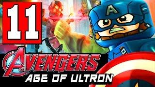 getlinkyoutube.com-LEGO Marvel's Avengers: AGE OF ULTRON Walkthrough Part 11 Level BARON STRUCKERS CASTLE