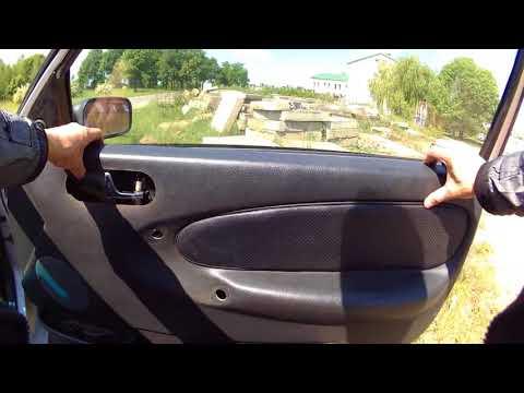 Снятие обшивки двери Ровер//door trim removal Rover