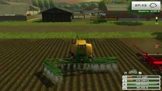 getlinkyoutube.com-Farm Sim Saturday  Realistic mod We cant get the full semi trailer up the hill