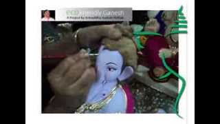 getlinkyoutube.com-Eco Friendly Ganesh Idol