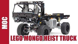 getlinkyoutube.com-Lego Trial Truck Mongo Heist Truck
