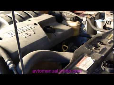 Замена моторного масла и фильтра Шевроле Лачетти
