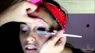 getlinkyoutube.com-#2 Makeup Su Mia Sorella - Per il ritorno a scuola(anche se in ritardo)