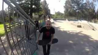 LamornaCam at the skatepark