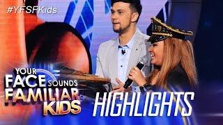 Your Face Sounds Familiar Kids: Elha, dinalhan ng banana cue ang Jury