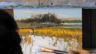 getlinkyoutube.com-Peter Fiore: Landscape Painting a Day (10 min)
