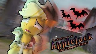 getlinkyoutube.com-The Misadventures of Applejack the Vampire Slayer [Animation]