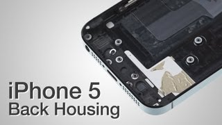getlinkyoutube.com-Back Housing Repair - iPhone 5 How to Tutorial