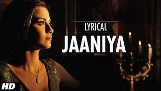 Jaaniya Full Song With Lyrics | Haunted | Mahakshay Chakraborty, Tia Bajpai