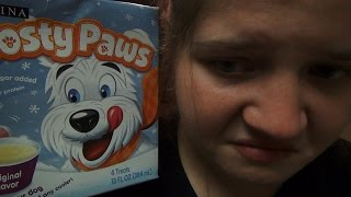 getlinkyoutube.com-BRIDGETTE EATS FROSTY PAWS! (DOG ICE CREAM PRANK!)