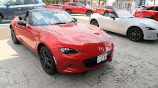 getlinkyoutube.com-マツダ新型ロードスター AT車2015年【女性レポーターが試乗 Vol.28】ROADSTER