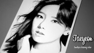 getlinkyoutube.com-Kim Taeyeon - Graphite Pencil Drawing