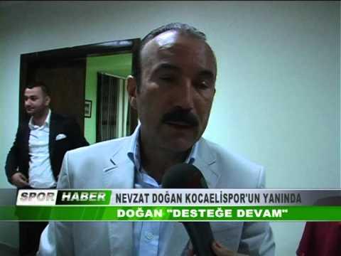 Başkanın Videoları - NEVZAT DOĞAN KOCAELİSPOR'UN YANINDA