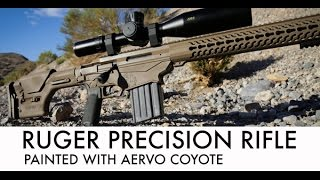 getlinkyoutube.com-Ruger Precision Rifle Painted with Aervo Coyote