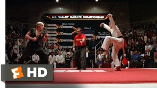 The Crane Kick - The Karate Kid (8/8) Movie CLIP (1984) HD