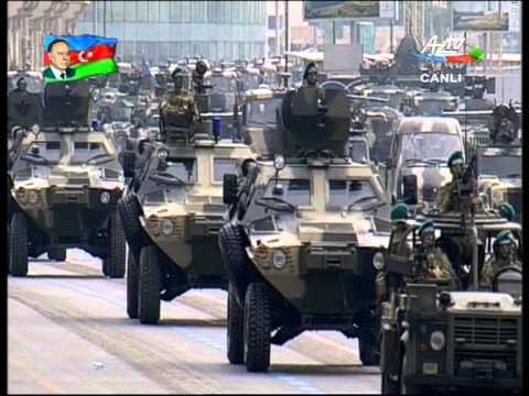 Azerbaijani Military Parade 2013 - Land Forces  Hərbi Par