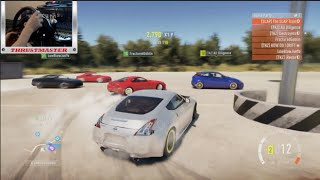 getlinkyoutube.com-Forza Horizon 2 Online Jump Drifting- Warehouse/Highway Run