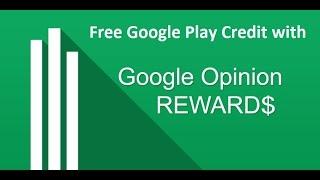 getlinkyoutube.com-How to get Free Google Play Credit with Google Opinion Rewards