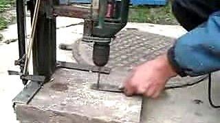 getlinkyoutube.com-Сверлильный станок своими руками