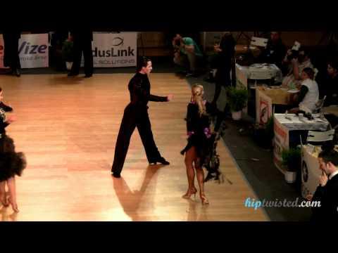 Gabriele Goffredo - Anna Matus, Brno Open 2012, WDSF int open latin, 2. round - chachacha