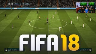 FIRST OFFICIAL FIFA 18 GAMEPLAY!
