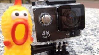getlinkyoutube.com-Экшен камера Eken H9 4K обзор на русском