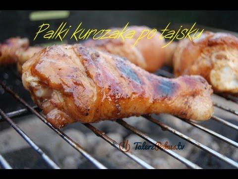 Pałki kurczaka po tajsku
