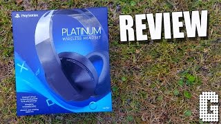 FIRST LOOK! Sony Playstation Platinum Headset REVIEW!