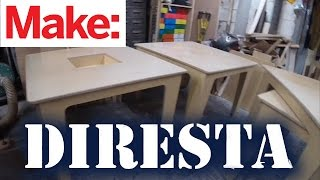 getlinkyoutube.com-DiResta: Little Maker Tables