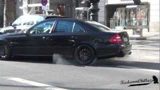 getlinkyoutube.com-Mercedes E55 AMG **BurnOut**