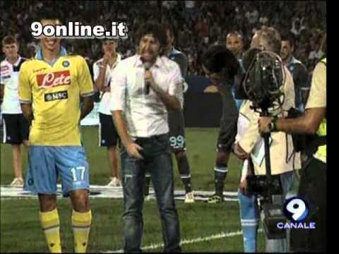 Presentazione Napoli 2011-2012, Alessandro Siani - 29/8/2011 - parte 4/5