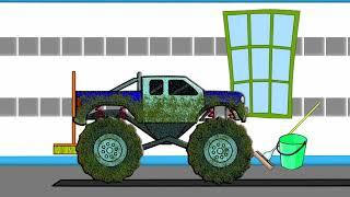 Monster Truck Car Wash - Auto Myjnia
