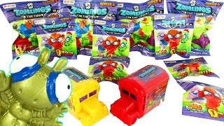 getlinkyoutube.com-ULTIMATE ZOMLINGS Blind Bags Surprises Opening Series 4