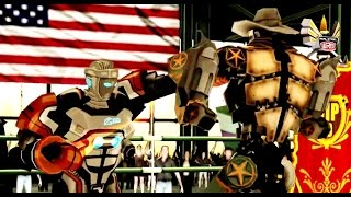 getlinkyoutube.com-REAL STEEL WRB Atom VS Six Shooter New Robots UPDATE (Живая сталь)