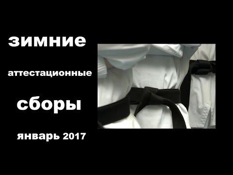 Зимние аттестационные сборы по айкидо и карате (январь 2017)