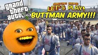 getlinkyoutube.com-Annoying Orange plays GTA V: BUTTMAN ARMY!!!