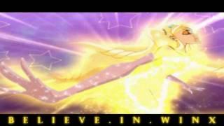 getlinkyoutube.com-Winx Club:Stella Enchantix Transformation! Nick Dub! HD!