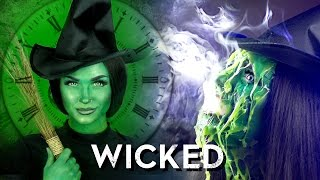 getlinkyoutube.com-Melted (Wicked) Witch of the West Makeup Tutorial