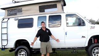 getlinkyoutube.com-E-450 Super Duty Sportsmobile Camper-Van TOUR CUSTOM INSANE 1/1