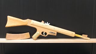 getlinkyoutube.com-[rubber band gun] Sturmgewehr 45