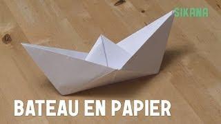 getlinkyoutube.com-Origami : Bateau En Papier