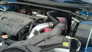 getlinkyoutube.com-2009 Mitsubishi Lancer K&N Intake HD
