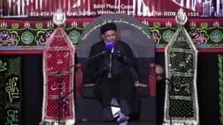 getlinkyoutube.com-Majlis 1   Ayatullah Sayed Aqeel Algharavi   Muharram 1438/2016