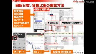 getlinkyoutube.com-信用取引入門(14)~回転日数・貸借比率(信用倍率)~