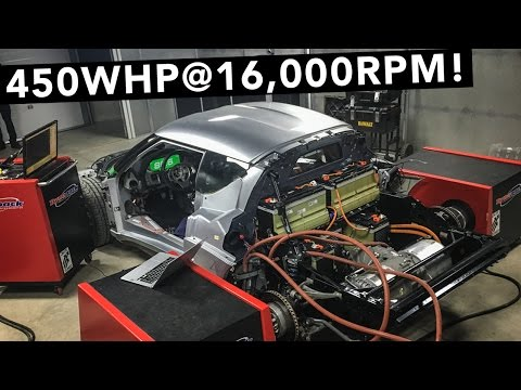 Tesla Motor Is In & Makes Big Power! - Lotus Evora Electric Car - EP03