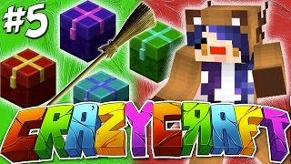 getlinkyoutube.com-Lets Open Presents ...& Immediately Destroy Them!! - YouTuber Survival Crazy Craft 3.0 - Ep 5