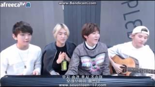 getlinkyoutube.com-[17TV] 150327 Jihoon, Joshua and members -  Officially missing you