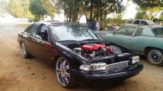 getlinkyoutube.com-1995 Chevy Impala SS LS3 With LSA Supercharger  #376SS