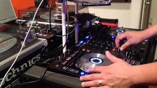 getlinkyoutube.com-121 to 85 Bpm transition mix pitch n time activated serato dj