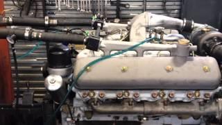 getlinkyoutube.com-Испытание двигателя ЯМЗ 238 НД3 под нагрузкой на стенде